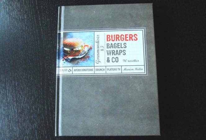 Livre Burgers, bagels et wraps