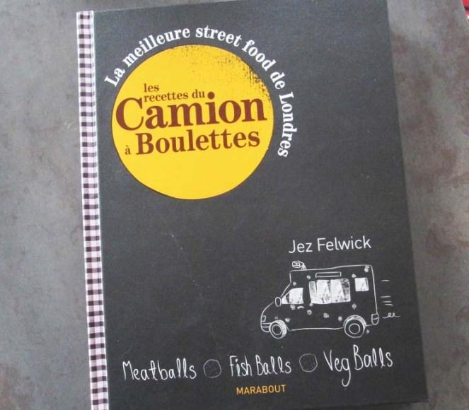Livre Camion à Boulettes