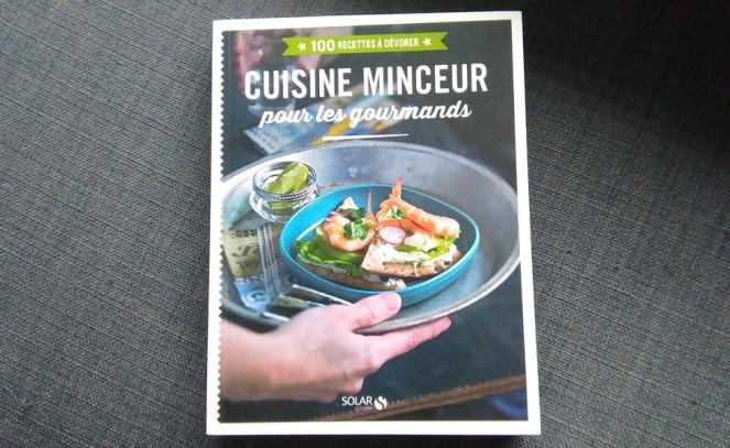 Livre Cuisine minceur, Éditions Solar