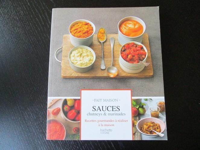 Livre Sauces, chutneys et marinades