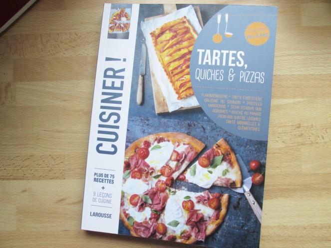 Livre Tartes, quiches et pizzas