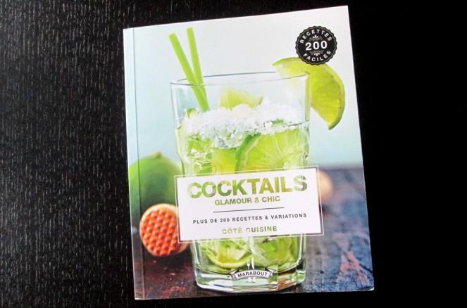 Livre Cocktails aux Éditions Marabout