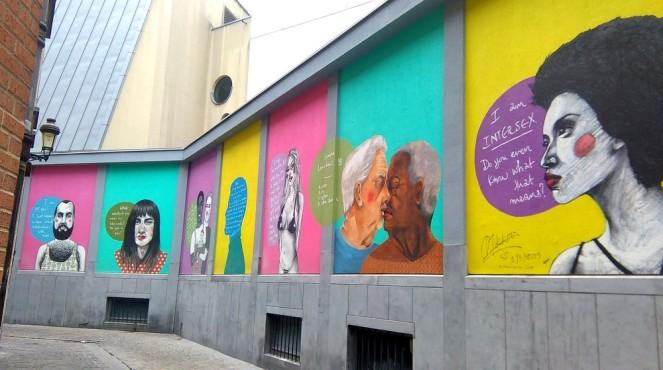 Street art à Bruxelles