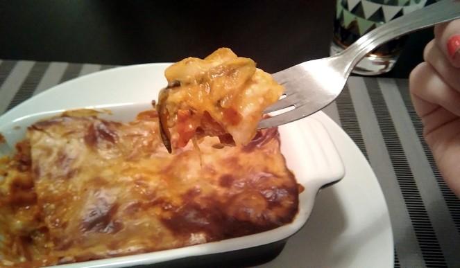 Dégustation lasagnes