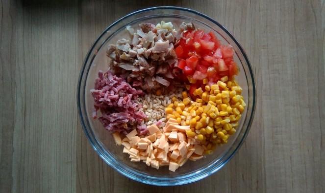 Recette de la salade d'ébly