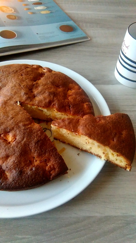 Gâteau fondant au yaourt