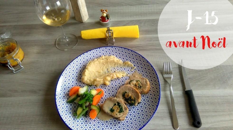 Filet mignon farci au foie gras et aux épinards